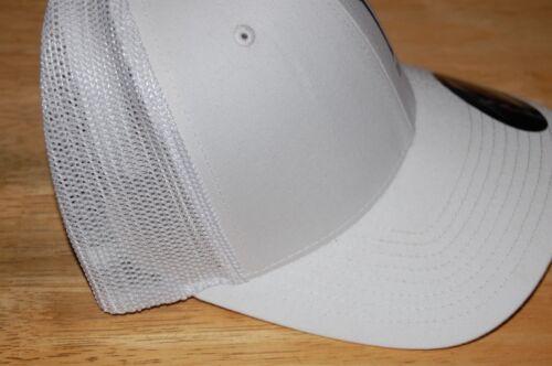 duo realis international fishing cap hat white snapback mesh flexfit NEW