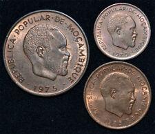 Mozambique 2 centimos 1975 Samora Machel Rare Africa Post Independence