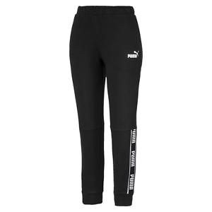 Puma-Women-039-s-Amplified-Pants-Tr-Sweatpants-Track-Bottoms-Black-Regualr-Bnwt-New