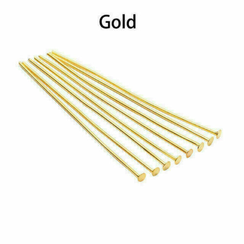 Wholesale 200pcs Flat Head Pins Multicolors For DIY Jewelry Making Findings