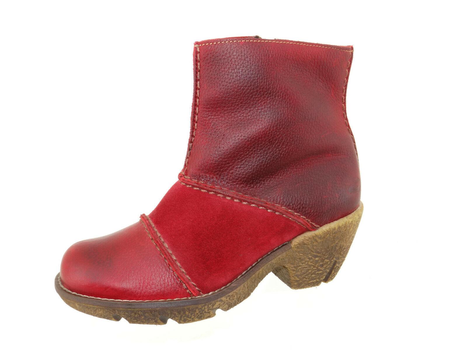 Aktiv Schuhe Lotus 6 39 Gr Camel Rot Stiefel OkZuiXP