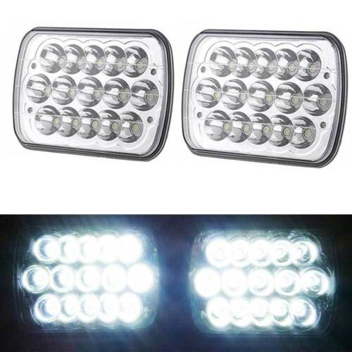 "For Chevy S10 Sonoma Truck 1982-1994 CREE 7/'x6/"" LED Headlight High Low Beam Pair"
