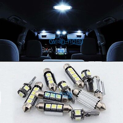 13x White Lights LED SMD Interior Package Kit For Benz B-Class W245 2006-2011