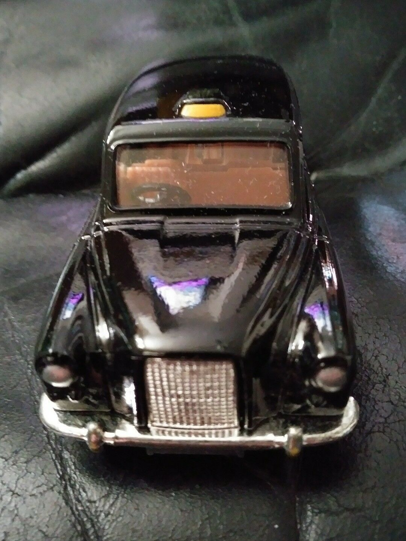 Corgi 425 Austin London Taxi med låda i England årgång sällsynt