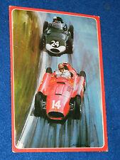 CPA CARTE POSTALE postcard FERRARI TIPO Grand Prix 1956 michael TURNER Collins