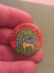 Vintage-Pin-Badge-1980-039-s-Memorabilia-Dean-Forest-Park