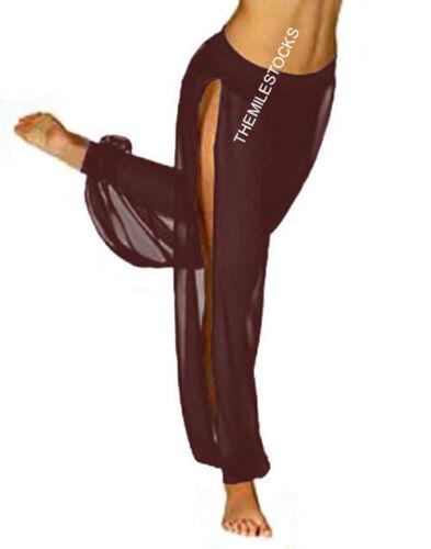 Royal Blue 25 Color TMS Slit Harem Yoga Pant Belly Dance Trouser Pantalon