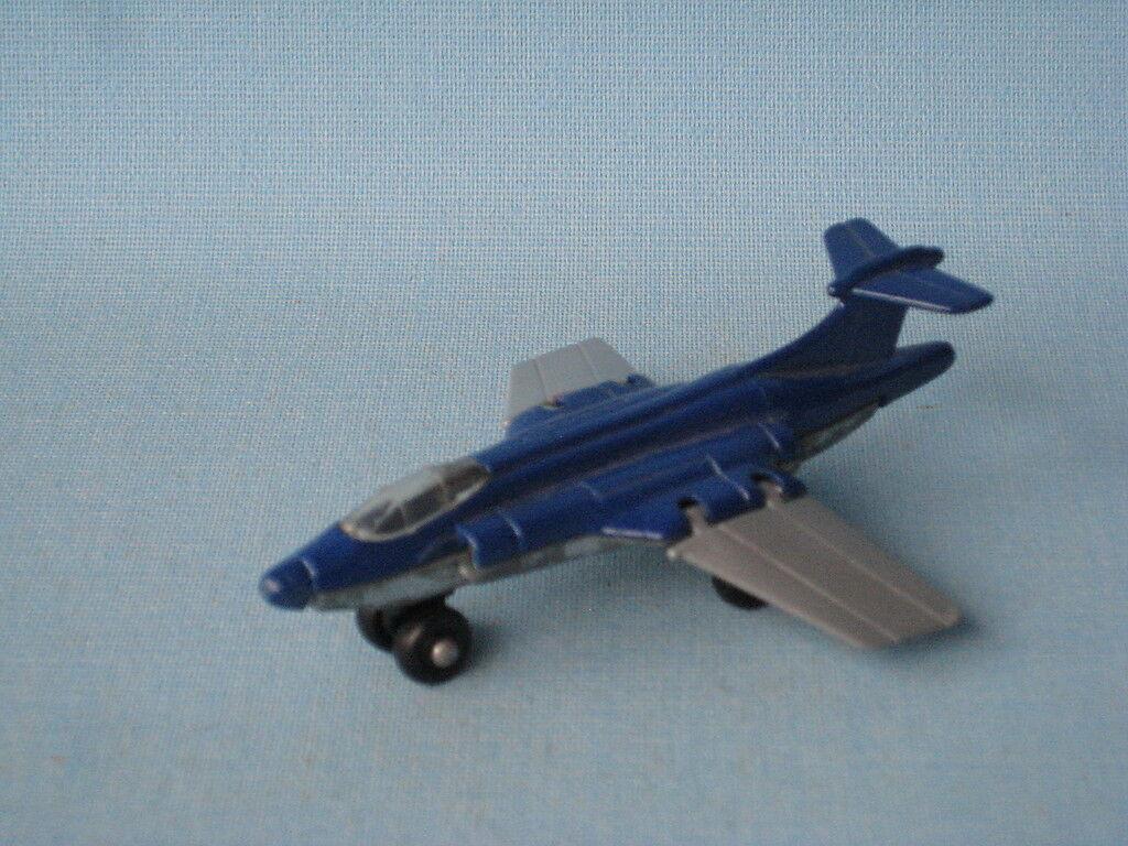 Lesney Matchbox S2 Jet Azul cuerpo suave base previo a la producción de prueba Raro