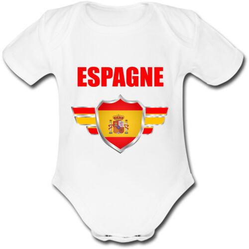Body Bébé Espagne Coupe du monde de football 2018