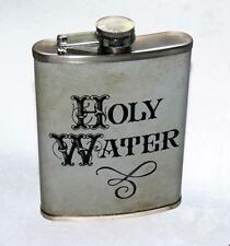 Holy Water 8 oz Stainless Steel Novelty Drinking Flask Ready to Use