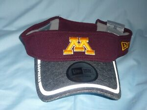 hot sale online 415f8 27f3a Image is loading MINNESOTA-GOLDEN-GOPHERS-Training-style-VISOR-New-Era-