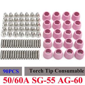 90x-Plasma-Cutter-Torch-Consumables-Nozzle-Electrode-Kit-For-LTP5000D-LTPDC2000D