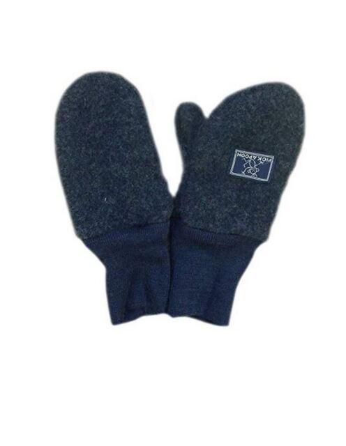 PICKAPOOH Mittens 100/% MERINO wool Baby Children fleece gloves arm warmer winter