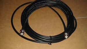 25 RG8X COAXIAL CABLE BNC MALE