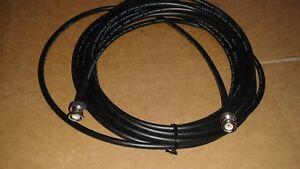 100 FT   RG-8X   CB  Ham Radio  BNC   Male   to  BNC  Male  50 ohm  coax cable