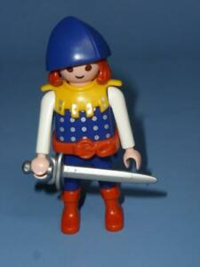 Playmobil-Empire-Lion-Knight-amp-Weapon-for-Palace-Jousting-Castle-A