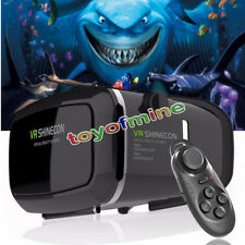 Virtual Reality 3D Brille VR Box mit Bluetooth Gamepad Iphone Samsung HTC Sony