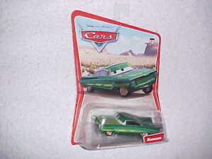 MATTEL-HW-DISNEY-PIXAR-CARS-2005-FIRST-EDITION-GREEN-034-RAMONE-034-VHTF-NEW