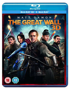 La-Gran-Muralla-Blu-ray-3D-2D-2017-Matt-Damon-pelicula-Reino-Unido-exclusivo-version-3D