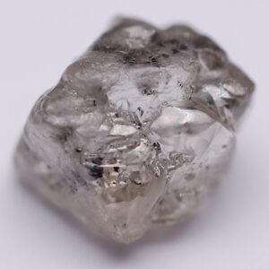 8.4 mm Rose Cut Diamond Rustic Loose Natural Diamond 3.18 carat Loose Gray Rustic Diamond Celestial Diamond