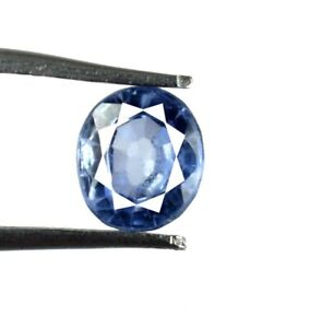 100% Natural Oval Blue Sapphire September Birthstone 2.45 Ct Certified A49835