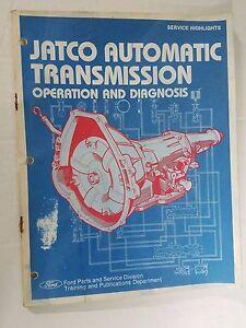 ford service manual for jatco automatic transmission operation and rh ebay co uk jatco jf613e service manual jatco service manual