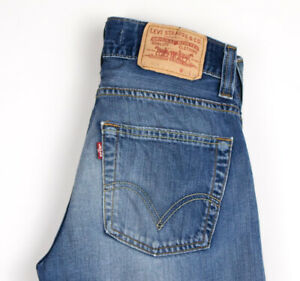 Levi-039-s-Strauss-amp-Co-Hommes-506-Standart-Jeans-Jambe-Droite-Taille-W28-L32-APZ824