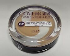 Covergirl Simply Ageless Foundation 220 Creamy Natural New and Sealed
