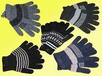 Handschuhe Herren Damen Strickhandschuhe Fingerhandschuhe wollart one Size NEU
