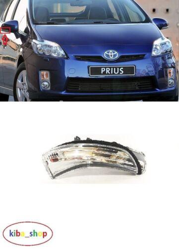 Toyota Prius 2009-2016 nouvelle Aile Rétroviseur Indicateur DROIT O//S DRIVER