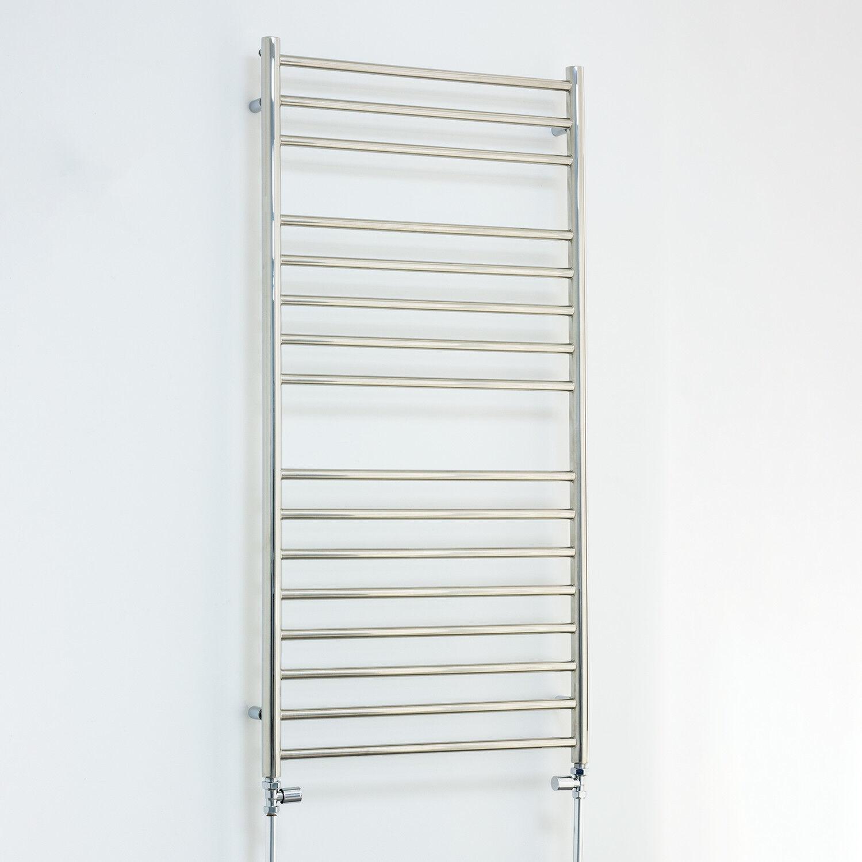 600 x acier inoxydable 1200 sèche-serviettes plat radiateur pour chauffage central