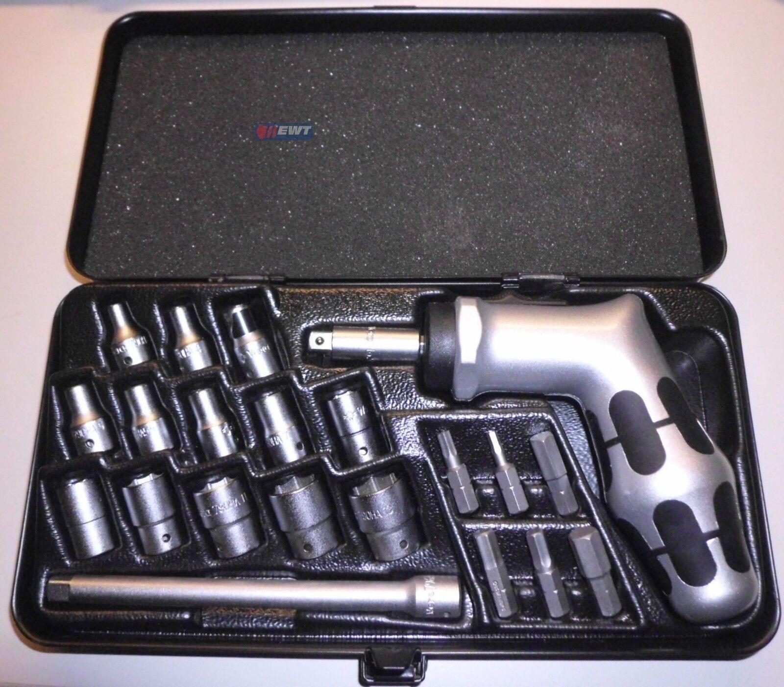 Wera Einhandknarre 21tlg Werkzeugset Ratschensatz