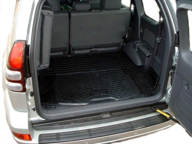 Toyota Land Cruiser Colorado Mats >> Toyota Landcruiser Colorado 96 03 Boot Mat Liner Ebay