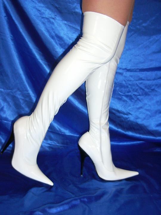 High heels, stiefel latex gummi 100% -Größe 35-47 producer -Polen