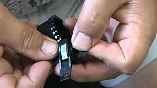 22PC Zip Zipper Replacement Instant Repair Kit Fix Broken Jeans Jackets Bags