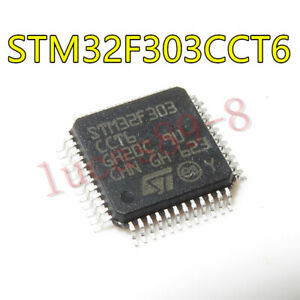 1PCS-STM32F303CCT6-32-bit-Microcontroller-ARM-Cortex-M4-256KB-LQFP-48-NEW