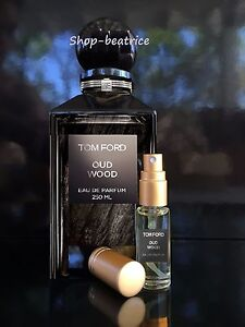 authentic tom ford oud wood 5 ml spray ebay. Black Bedroom Furniture Sets. Home Design Ideas
