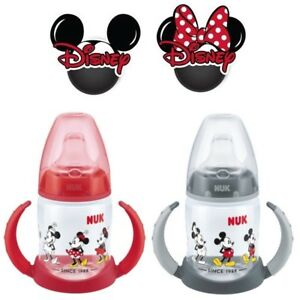 Disney-Minnie-Mickey-Mouse-Baby-Drinking-Cup-First-Choice-Learner-Spout-Bottle