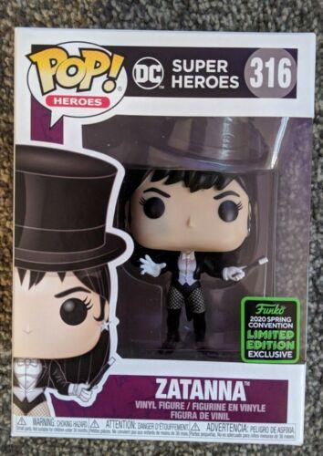 Zatanna Funko Pop DC Super Heroes Édition Limitée eccc 2020 EXCLUSIVE BRAND NEW