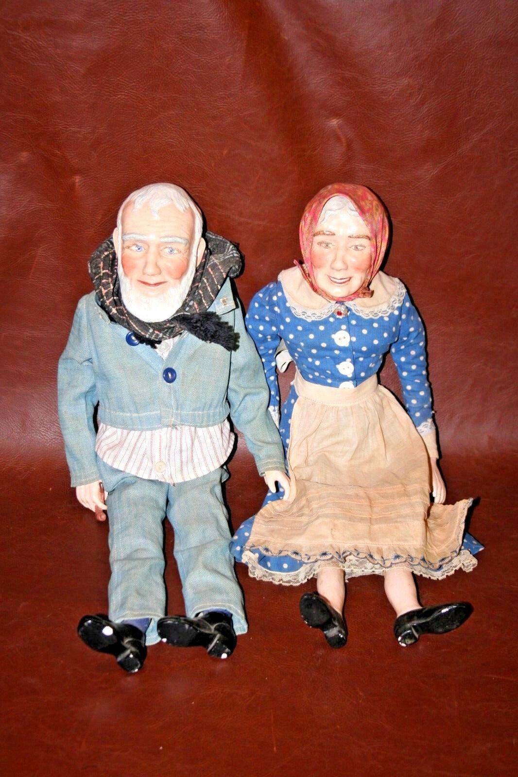 COPPIA 1965 He fatto 21 Stile Nordico NONNA & Nonno bambolaS by Mildrosso preshaw