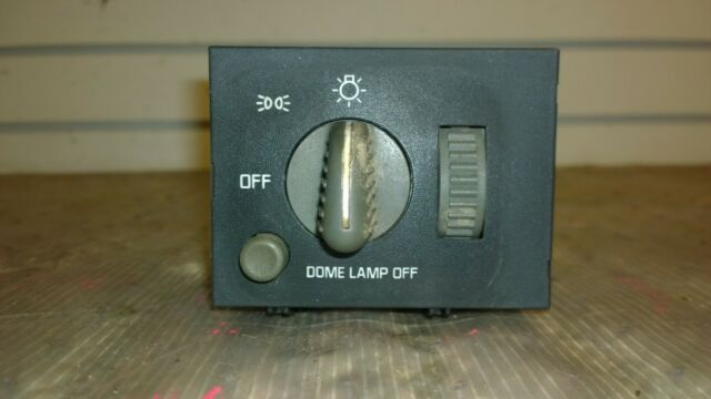 95 96 97 98 Chevy Gmc 1500 2500 Suburban Tahoe Yukon Headlight Dimmer Switch Oem