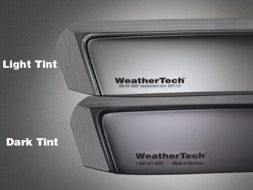 WeatherTech Side Window Deflectors for Nissan Altima 81130 1998-2001