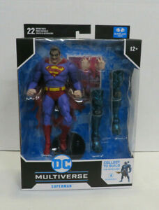 figure only * Mcfarlane DC Multiverse Superman The Infected new in box *