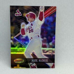 2001 Bowman's Best #62 Mark McGwire MLB Baseball Card St. Louis Cardinals