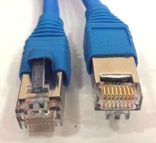 "2.1 meter New CAT 6 F//UTP RJ45 shielded ethernet cable 6/' 10/"" Lot of Qty 5"