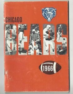 1966-Chicago-Bears-Football-Media-Guide-Gale-Sayers-Dick-Butkus-Mike-Ditka-FAIR