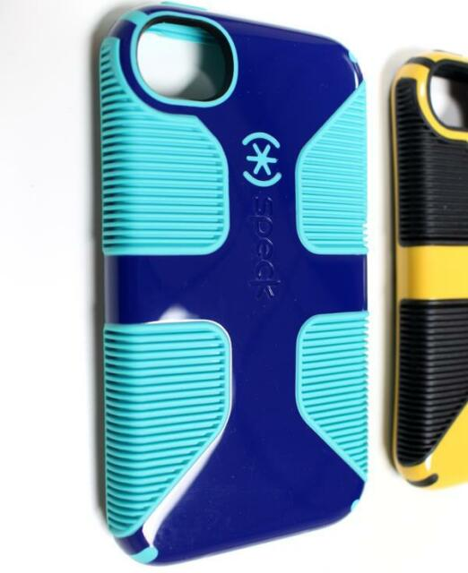 finest selection eca5f 785e4 Speck Apple iPhone 4 4s Case CandyShell Grip Blue/green Cover Slim Shell  Bumper