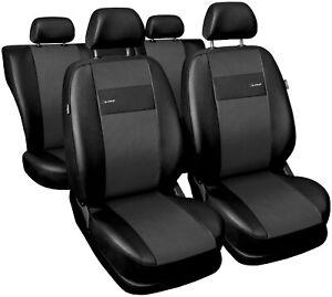Sitzbezüge Sitzbezug Schonbezüge für Skoda Fabia X-line Grau