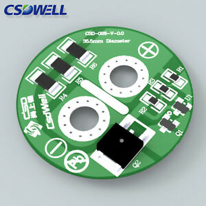 Details about 10pcs 2 7V 500F Super Capacitor Balancing Protection Board
