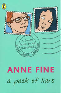 A-Pack-of-Liars-Puffin-Books-by-Anne-Fine-Good-Used-Book-Paperback-FREE-amp-F